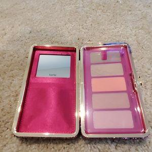 Tarte: clay blush palette & clutch
